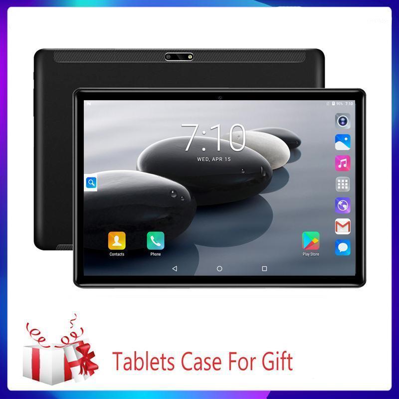 Tablet PC 10.1 pollice 3G / 4G Telefonata Chiamata Octa Core Core 6 GB / 64 GB WiFi Bluetooth 4.0 Dual SIM Camera Google 2.5D Compresse in acciaio + tastiera1