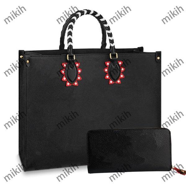 Moda Womens Totes Bags Classic Letter Impressão Design Senhora Saco Grande capacidade com carteira de alta qualidade bolsa bolsa