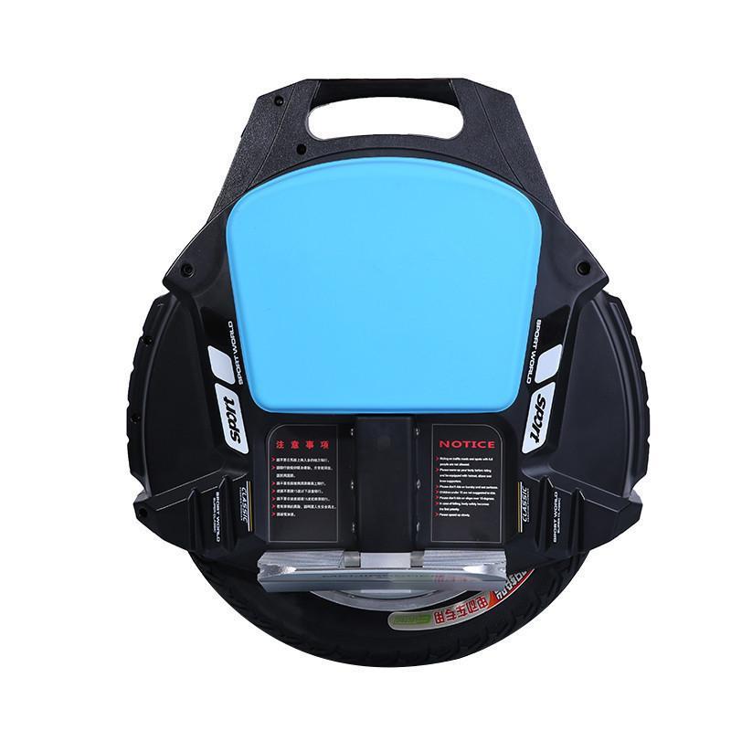 Ein Rad elektrischer Unicycle-Roller-Selbstausgleichungsroller mit Bluetooth-Lautsprecher 500W 60V-Elektroroller für Erwachsene