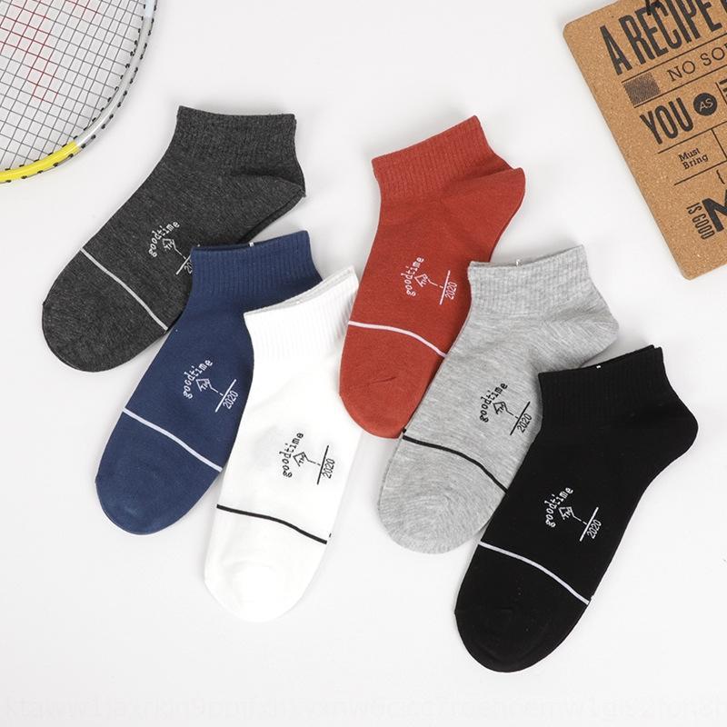 casuales calcetines peinado barco deportes de iKSMb barco de algodón algodón socksnew hombres bajos de la cintura Liaoyuan otoño calcetines de hombre aHGpK