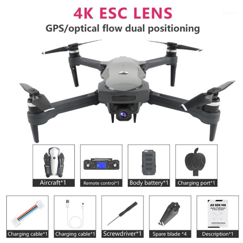 WiFi FPV 4K GPS Drone K20 5G HD Dual Camera Esc Blackless Moteur Professionnel Pliable RC Quadcoptère 25 minutes Vol Vs SG9071