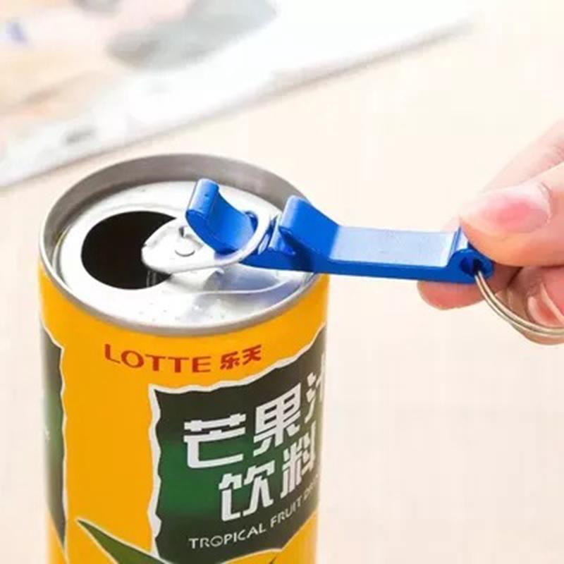 Portable mini garrafa abridor keychain liga de alumínio garrafa de cerveja lata abridores Creative chaveiro chave cozinha barra de cozinha acessários vt1932