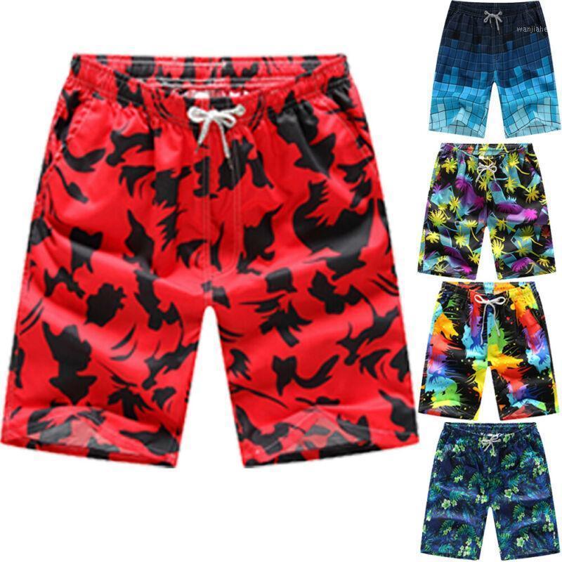 Venda quente mens dos esportes havaianos nadar natação shorts placa surf shorts trunks board1