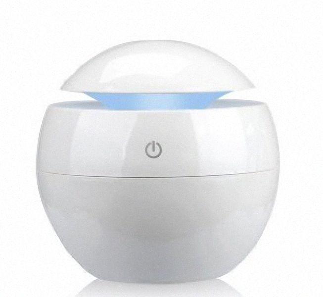 Veränderbare Aroma Essential Oil Diffuser Mini-USB-Luftbefeuchter Portable Ultraschall Mist Luftbefeuchter Luftreiniger LED-Nachtlicht PL23 #