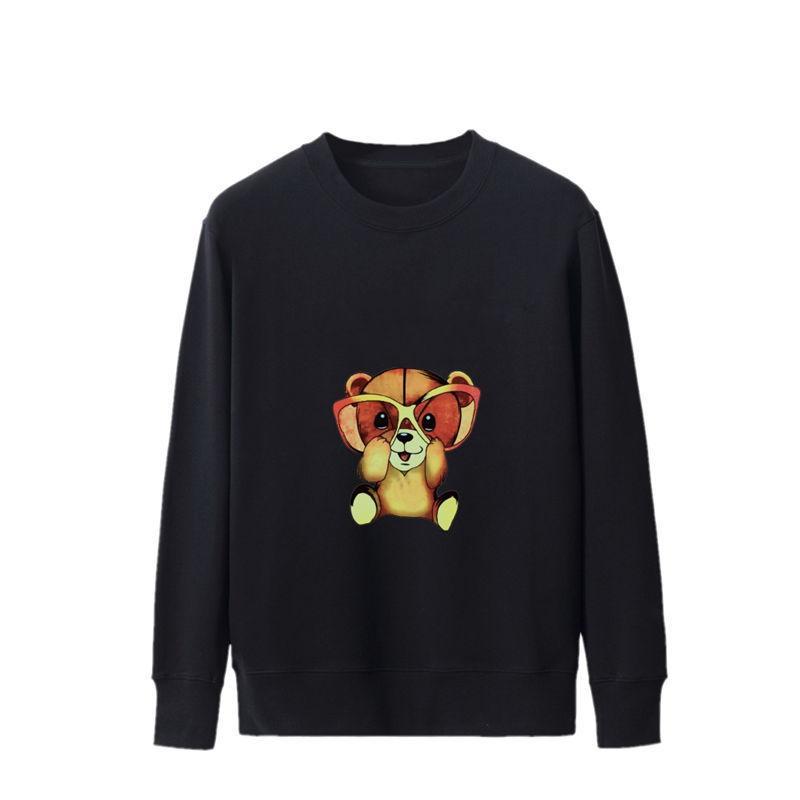 Fashion Men Women Sweatshirt 2020 Mens Autumn Winter Paris Sweatshirts 20ss Womens High Quality Bear Cartoons Printed Pullover Clothes Coat