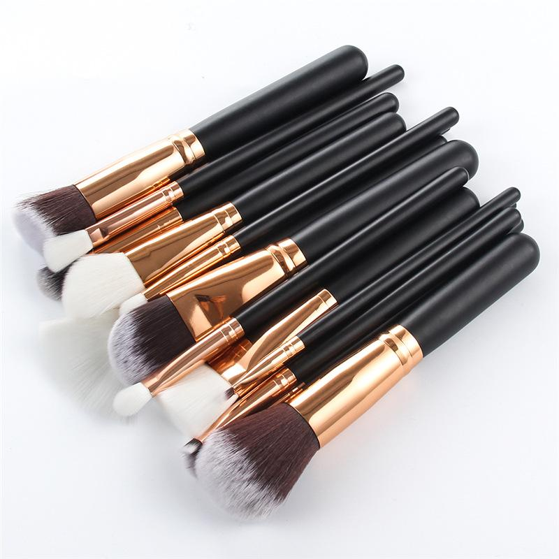 15pcs Makeup Brushes Set Powder Eye Shadow Foundation Powder Blush Lip Make Up Brush