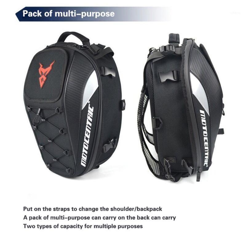 Bolsa de motocicleta de hombre negro Mochila de motocicleta impermeable Touring bolsa de equipaje bolsas MOCHILA MOTO1