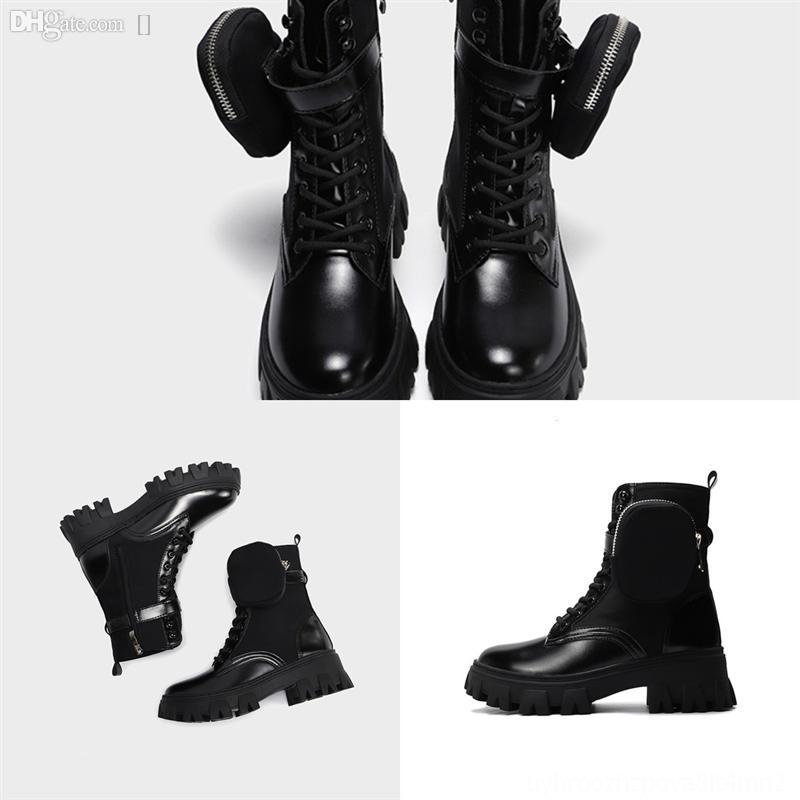 kvony hiver bottes pour femmes bottes mi-veaunes dames western chaussures chaussures de cuir de moto Polka moto moto porte portefousseboot rouge plus taille