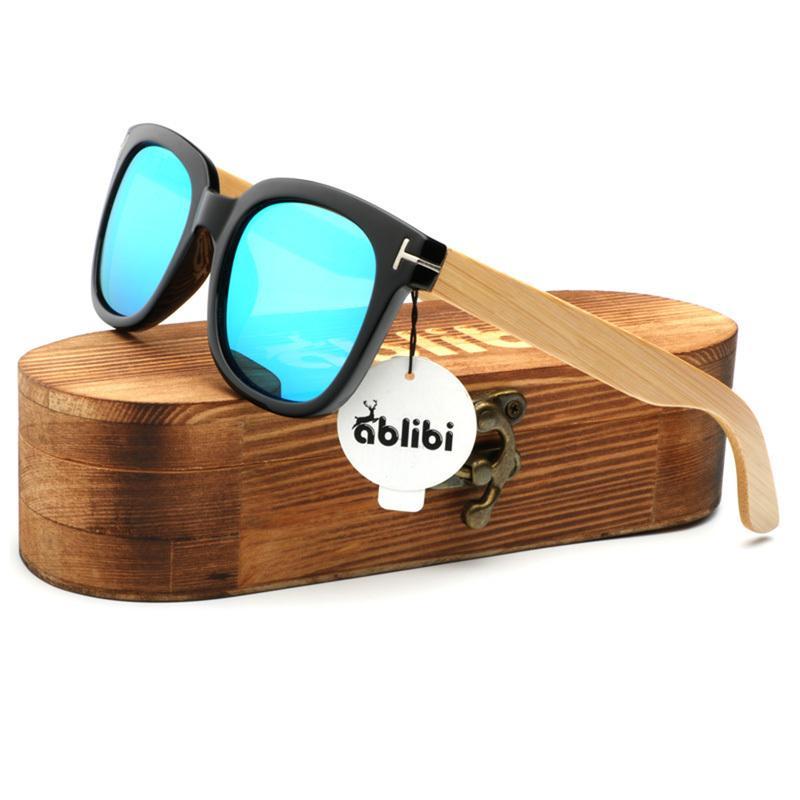 Shades Sunglasses Polarized In Wooden Wood For Sun Glasses Vintage Men/Women Driving Fishing Ablibi Bamboo Unisex Box Wood Jfvdn