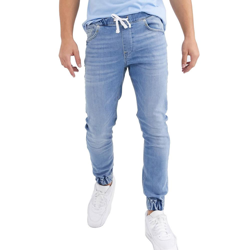 Joggers Hommes Mode Skinny Jeans occasionnels