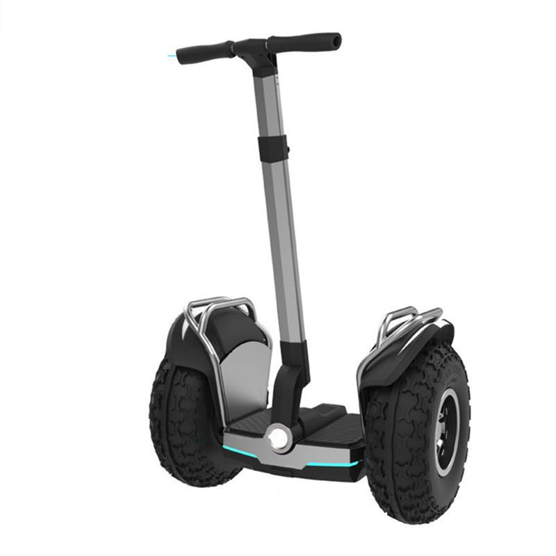 US-Warehouse Daibot Off Road Electric Roller 19 Zoll Self Balancing Roller 1200W * 2 Erwachsene Skateboard Hoverboard mit Bluetooth / App