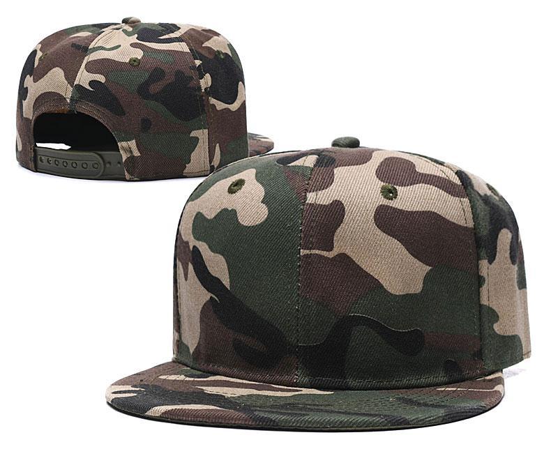 Toptan Boş Örgü Camo Şapka Snapbacks Beyzbol Şapkası Spor Kapaklar Güneş Kremi Şapkalar