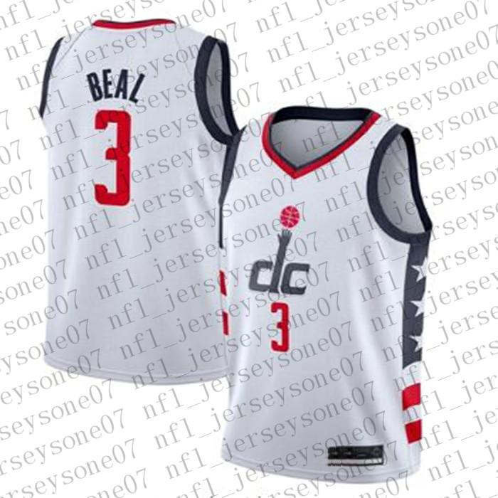 Uomini Womens Youth WashingtonWizards.3 Bradley Beal # 5 Juwan Howard Verde Salute per servire basket Swingman Jersey personalizzato