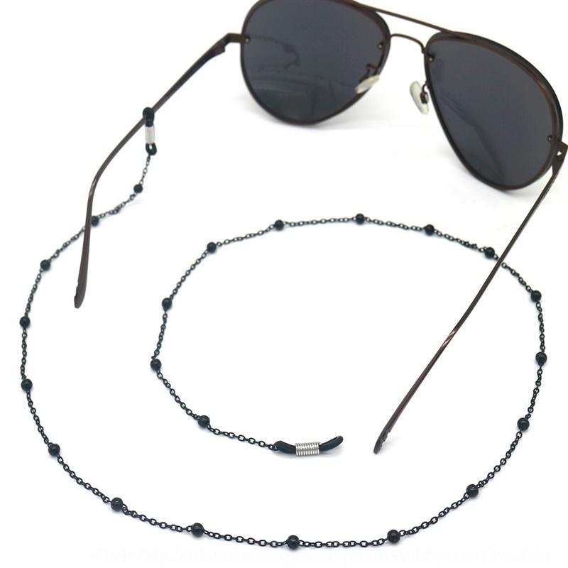 WDJ4K Simples Ouro Prata Corrente Corrente de Corrente Dual Propósito Sol Pendurado Corda Sun Óculos Colar Óculos Colar