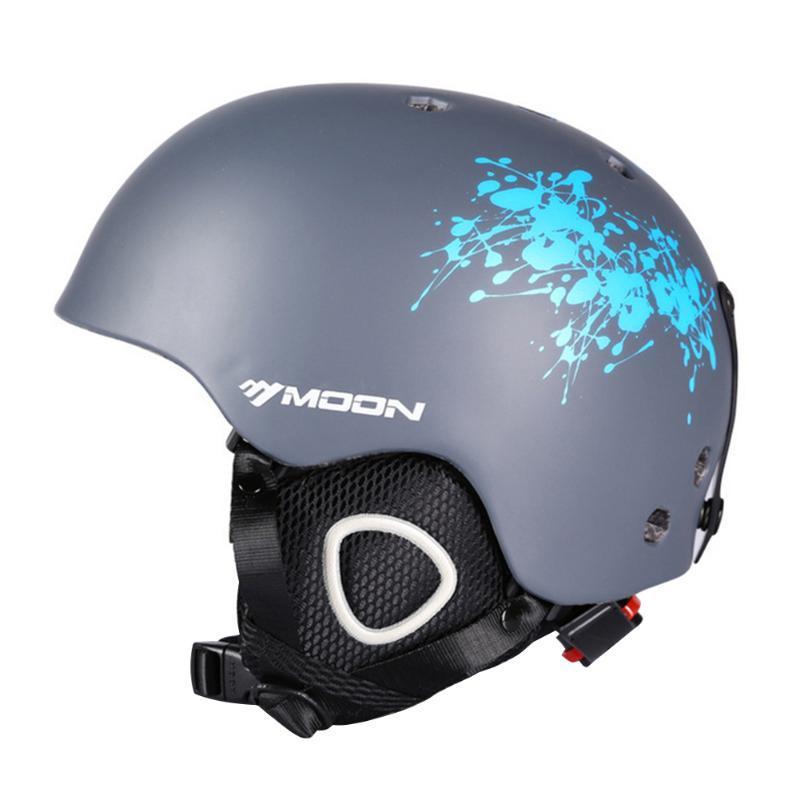 Skating Outdoor Sports Kopf trägt Stoß- Skihelm verstellbaren Riemen Warm Cycling Safety Air Vent Hartatmungsaktiv