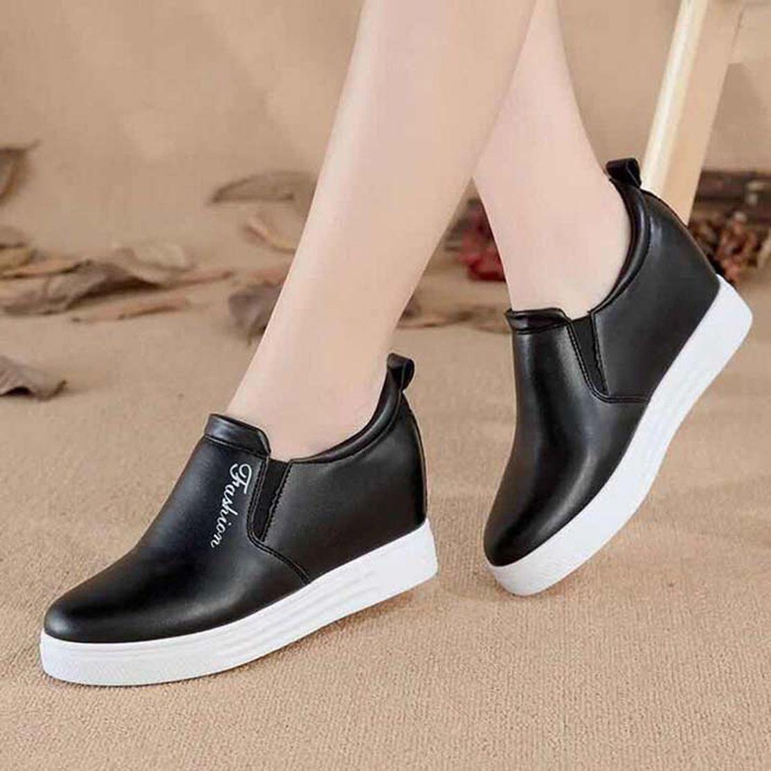 Con la scatola della scarpa da tennis scarpe casual scarpe da ginnastica di moda sportivo in pelle di alta qualità stivali pantofole dei sandali vintage per la donna 06PX65
