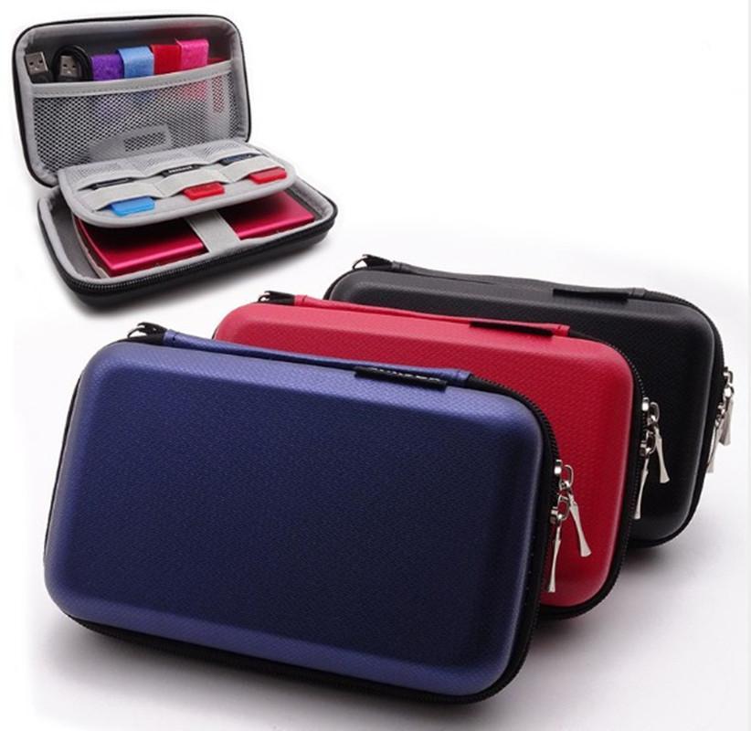 USB 케이블 주최자 품질 방수 이어폰 USB 케이블 주최자 지퍼 케이스 휴대용 휴대용 하드 가방 EVA 스토리지 박스