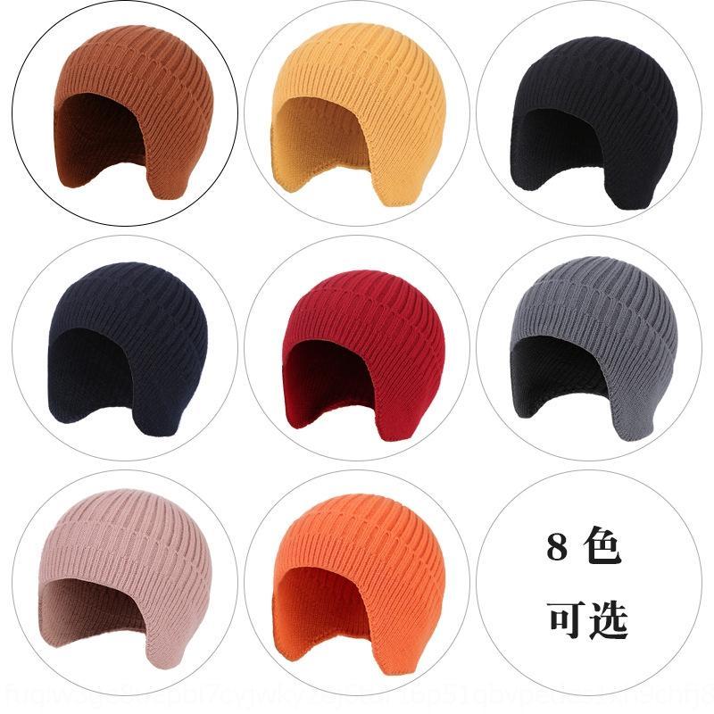 RILM7 Açık Sonbahar ve Kış Bisiklet Kulak Koruma Sıcak Sıcak Yün Kazak Örme Örme Şapka Erkekler Ve Kadın Yün Kazak Kayak Şapka