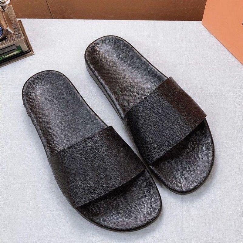 Женщина / мужские сандалии тапочки тапочки тапочки высокое качество сандалии тапочки повседневные туфли тренажеры плоские ботинки слайд ЕС: 35-45 с коробкой 07