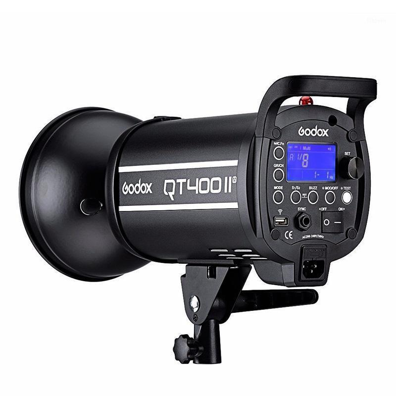 Free DHL Godox Professional 400WS HSS 1/8000s GN65 QT400II M 110V 220V 2.4G Wireless System Studio Lighting Flash Light Strobe1