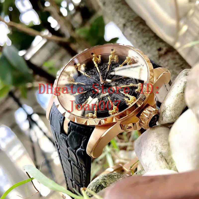 2020 Watches hot Sale 45mm 12 King characters decoration Automatic movement Mechanical Watch Men Big Dial Mens Watches RD watch