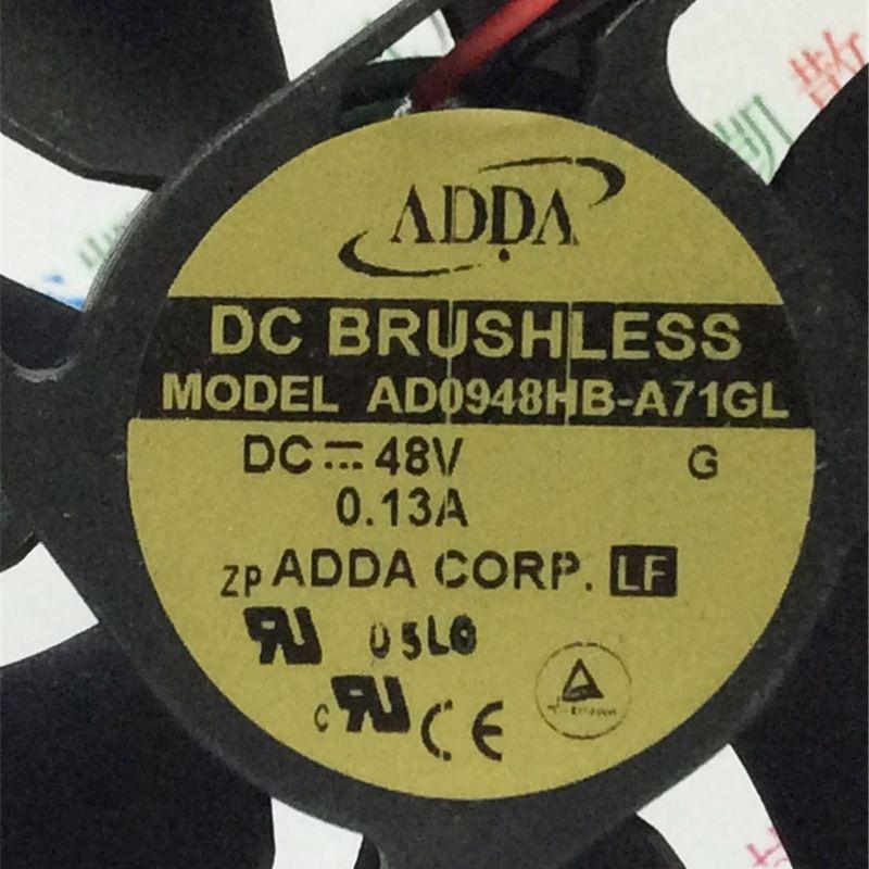 Brandneue Hohe Qualität AD0948HB-A73GL DC 48V 0.13A Kühler Luftkühlgebläse