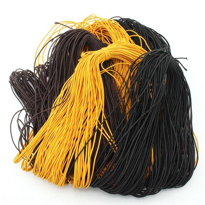 aNdKY 1.5mm d 5- élastique noyau de la bande en caoutchouc Diy bande de caoutchouc en fil professionnel de fil d'âme bricolage corde perlée