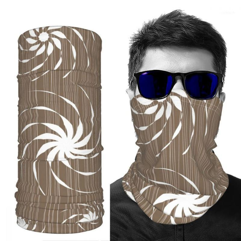 Cycling Caps & Masks Mask Scarf Warm Women S Wind Proof Printed For DIY Customizable Ice Silk1