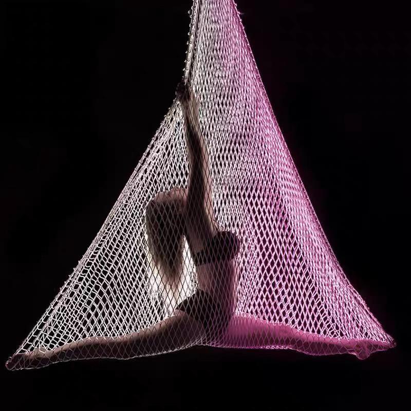 Oporniki oporowe ARTRIAVL Aerial Net dla Kulturystyki Kobiety Joga Hamak Wędkowanie 5.5Y / 5 M Poliester łóżko Joga, Akrobatyka, Cyrk