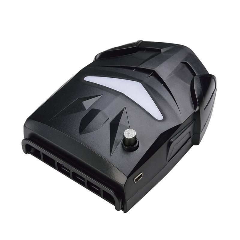 Laptop Cooling Fan 17inch Gaming Cooler Шесть вентилятора Led Sn Два USB порта 2600RPM Laptop Cooling Pad для