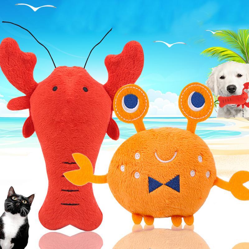 Creative Pet Toy Plush Simulation Animals Dog Bite Sound Toys Puppy Chew Squeaky Toys