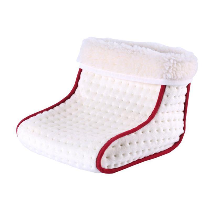 Beheizte Stecker-Typ Elektro-Warm Fußwärmer Waschbar Vorläufe Steuerungseinstellungen wärmer Kissen Thermal Fußmassage Geschenk