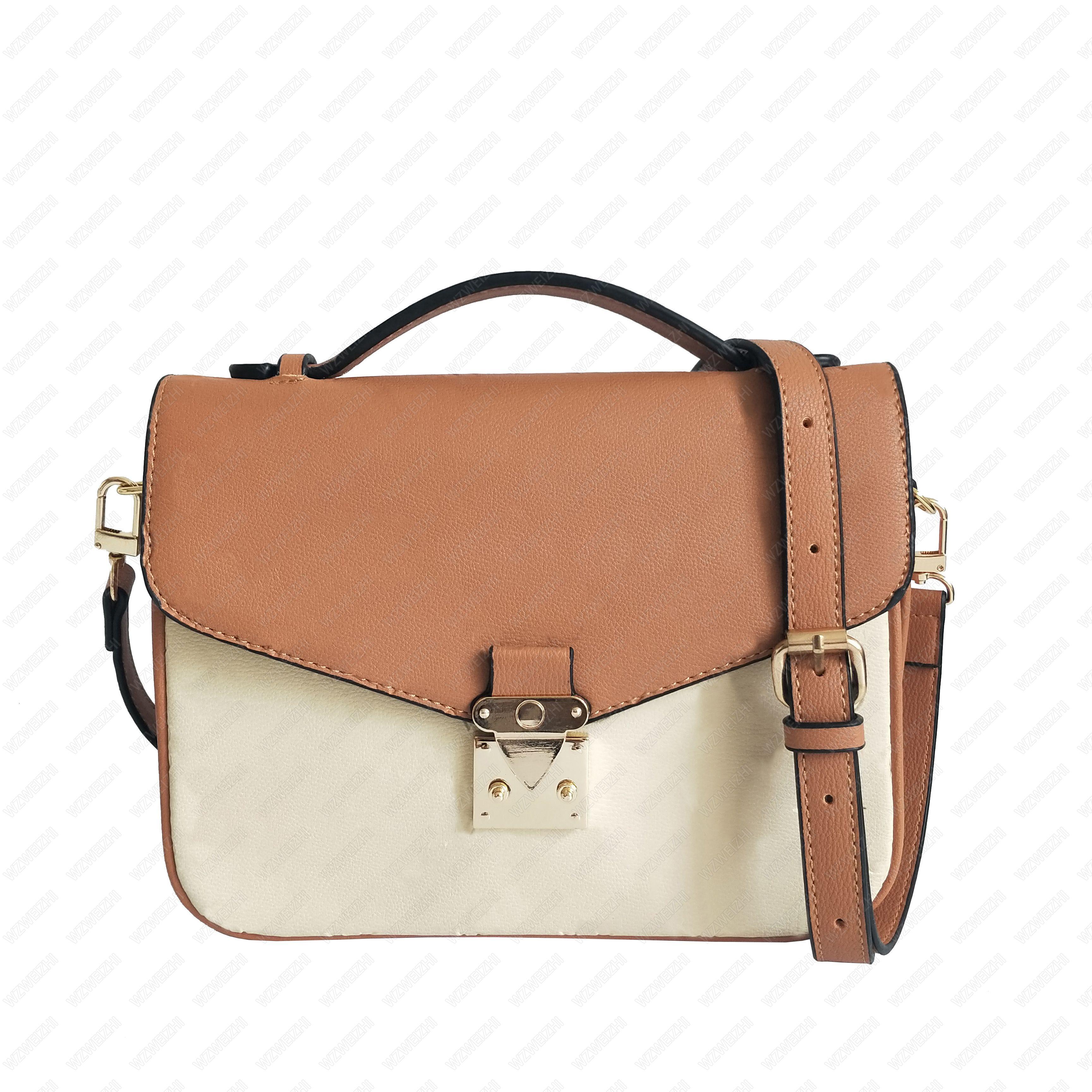 최고 품질의 클래식 메신저 가방 핸드백 여성 어깨 가방 크로스 바디 지갑 레이디 파리 인쇄 오래 된 꽃 totes 7 색