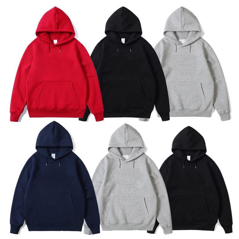 Mens Hoodies Men Harajuku Hoodies Sweatshirts Oversized 2021 Men Women Streetwear Black Hoodie Male Hiphop Winter Basic Hoodies