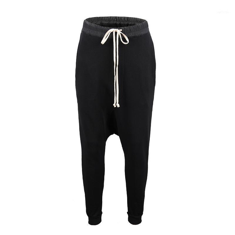Мужские штаны 2021 Saggy Ретро Спортивные Дышащиеся Ткани Стиль Стиль Banded Мужчины Женщины Свободные Случайные1