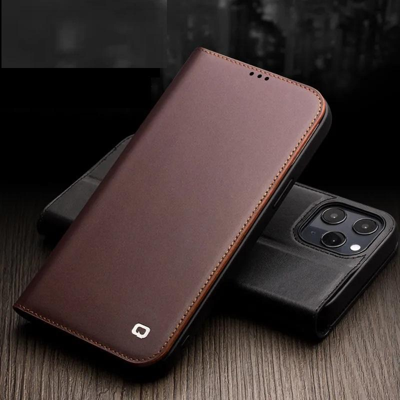 Fashion leather flip from mobile phone protection shell, apply to the iPhone 12 pro max