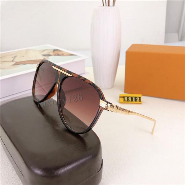 2021 Luxe Nouvelle marque Polarized Sunglasses Hommes Femmes Sunglasses Lunettes de soleil UV400 Lunettes Lunettes Métal Cadre Polaroid Lens dans la boîte