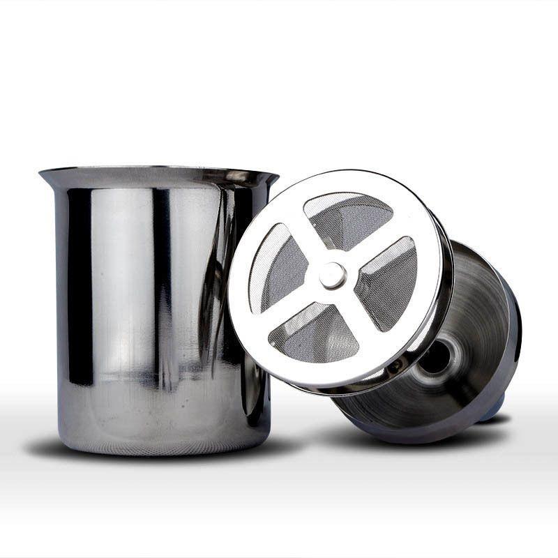 Z40 Manual Milk Foamer / Frother Frosting Aço Inoxidável Acessórios para Café / Maker / Machine Tool Kitchen / Acessórios Chocolate Q0109