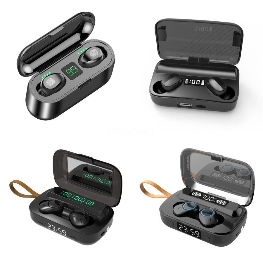 Heiße Verkaufs-XG13 Tws Inear Mini Wireles Bluetooth V5.0 Mini-Kopfhörer Handfree In-Ohr-Kopfhörer-Kopfhörer für Iphone Samsung Handy # 982