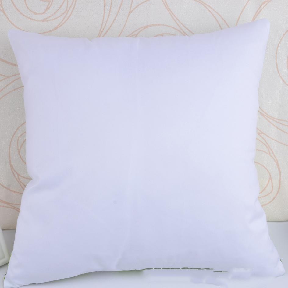Сублимационные подушки сублимационные пробелы подушки крышки подушки подушки подушки 40 * 40см домашний диван украшения блестящий персиковый материал для персики XD24392