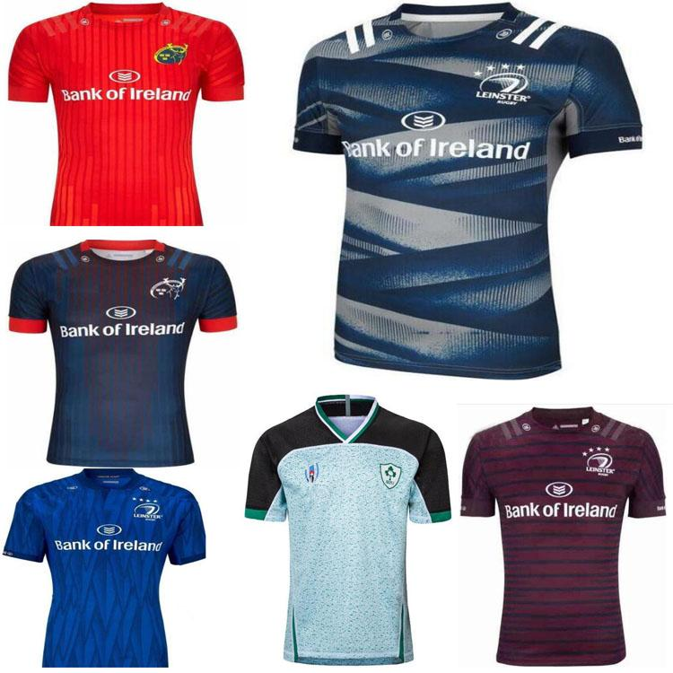 Top Quality 2019 2020 2021 Nouveau Irlande Rugby Jerseys T Shirts Accueil Jersey Rugby Jersey 20 21 Chemises Taille
