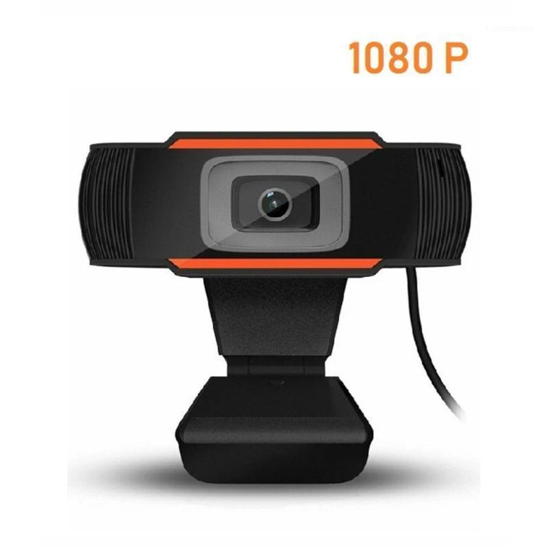 Webcam 1080P 720P 480P Full HD-Web-Kamera eingebautes Mikrofon drehbarer USB-Stecker-Webcam für PC-Computer-Mac-Laptop-Desktop1