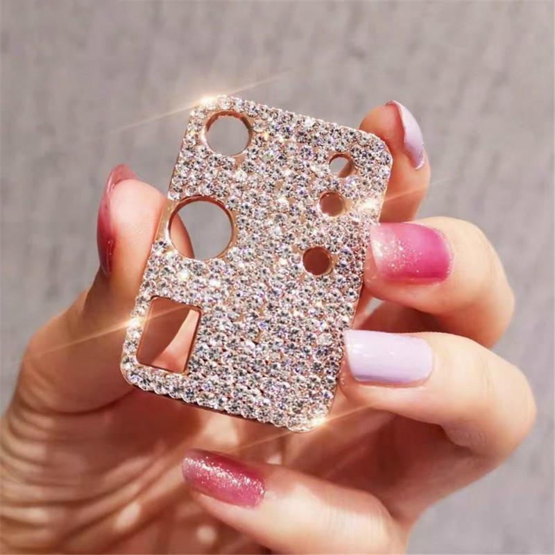 Diamant Métal Note 20 Caméra téléphone Protection Lens Case pour Samsung Galaxy Nouveau Note20 S20Plus Ultra Objectifs Protecteur