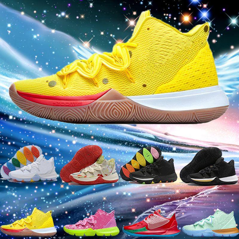 2019 botas de agua caliente Kyrie Shoes TV PE BOOTS Shoes 5 para el 20 aniversario barato Sponge X Irving 5s V Cinco botas zapatillas deportivas