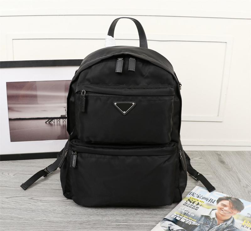 Backpack 2020 P ev yeni erkek sırt çantası paraşüt naylon gündelik kanvas çanta erkeklere kısa iş gezisi sırt çantası tenteleri