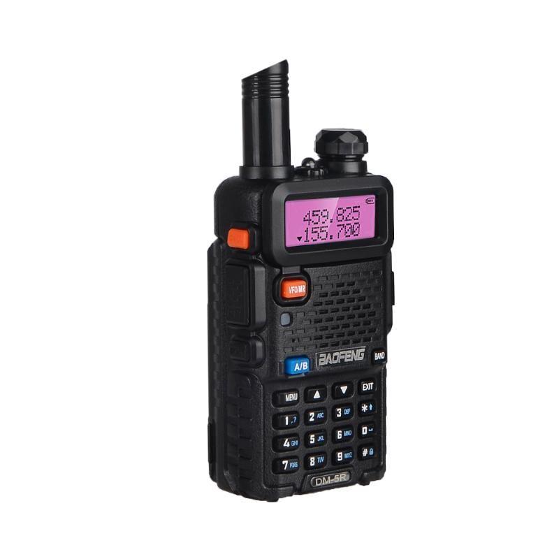 Walkie Talkie Baofeng DM-5R 듀얼 밴드 장거리 DM5R UHF VHF 라디오 DMR 디지털 핸드 헬드