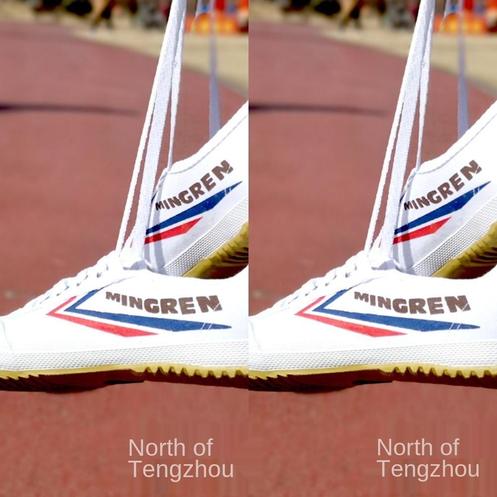 awAjR zapatos de doble estrella de los zapatos corrientes de voleibol buey única pista y campo de deportes de la mañana el examen de ejercicio snea de zapatillas de deporte para hombre y mujer