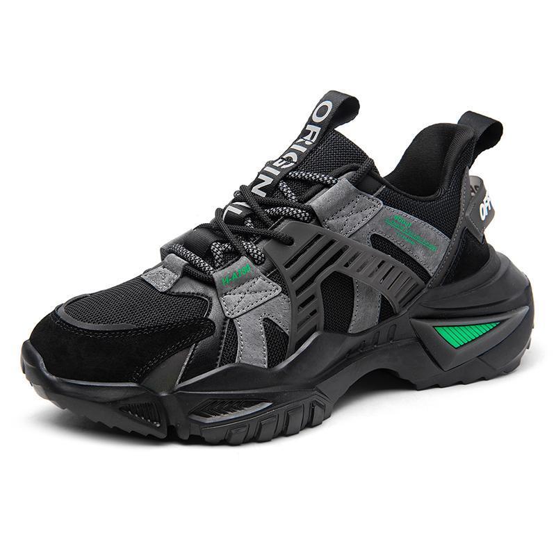 Мода ретро папа кроссовки Человек Повседневная обувь Tide Man Беговые кроссовки обувь Открытый Нескользящие Walking Zapatos Hombre