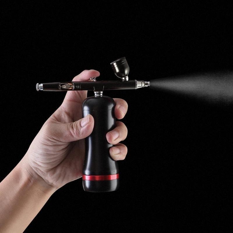 Мини Беспроводная Аккумулятор можно заменить аэрограф компрессор для макияжа ногтей красоты парикмахерская БУЭС #