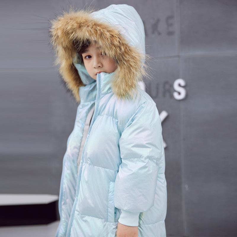L'autunno e giù imbottito modo del bambino dei bambini di stile Nuovo Inverno caldo ragazza rivestimento Giacche Ragazze Capispalla cappotti
